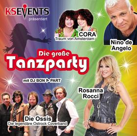 Bild: Die große Tanzparty - Nino de Angelo, Rosanna Rocci, Cora, Die Ossis
