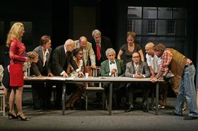 Bild: Die zwölf Geschworenen