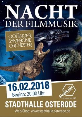 Bild: Nacht der Filmmusik - mit dem Göttinger Symphonie Orchester