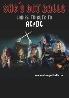 Bild: She`s Got Balls - Ladies Tribute to AC/DC