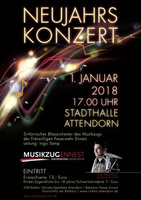 Neujahrskonzert - des Sinfonischen Blasorchesters Ennest