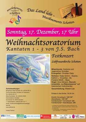 Bild: Weihnachtsoratorium - Festkonzert