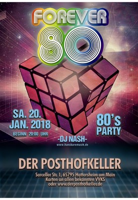 Bild: Back to the 80´s ! Keller goes Disco