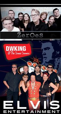 Bild: D.W. King and the Cosmic Crooners + Zeroes - Elvis Presley Tribute + David Bowie Tribute
