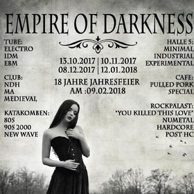 18 Years Empire Of Darkness