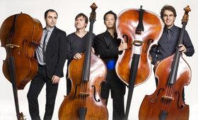 """Bild: Kontrabass-Quartett Bassiona Amorosa - """"Klassik populär und populäre Klassiker"""""""