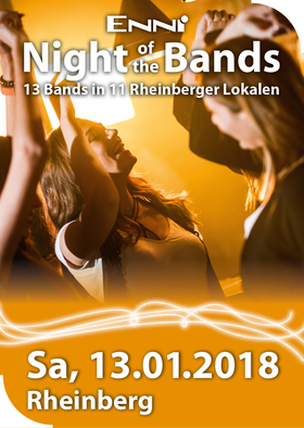 Bild: ENNI Night of the Bands Rheinberg - 13 Bands in 11 Rheinberger Lokalen