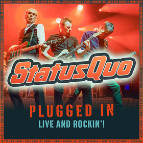 Bild: STATUS QUO - PLUGGED IN - LIVE AND ROCKIN !