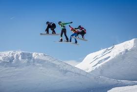 Bild: FIS Snowboard Cross Weltcup Feldberg - Tageskarte Samstag