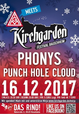 Phonys & Punch Hole Cloud - Winterkirchgarden