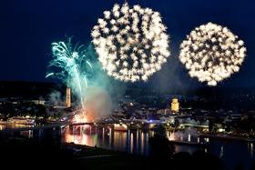 Bild: Donau in Flammen meets Europäische Wochen