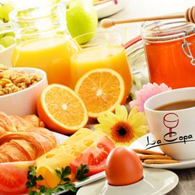 Bild: Sektfrühstück mit reichhaltigen Büffet - Schlemmen im La Copa
