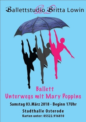 Ballettstudio Britta Lowin - Unterwegs mit Mary Poppins