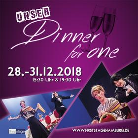 Bild: Dinner for One - Die beschwipste Musicalkomödie