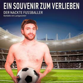 Bild: Ein Souvenir zum Verlieben ... der nackte Fußballer!