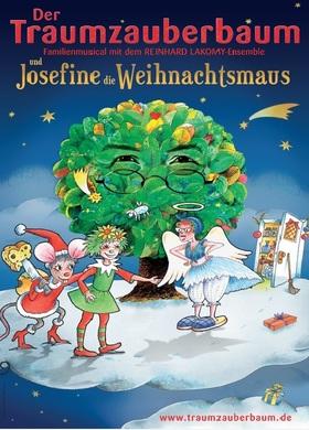 Bild: Der Traumzauberbaum und Josefine, die Weihnachtsmaus