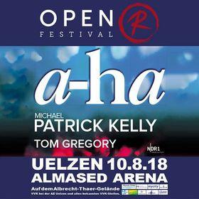 Bild: Open R Festival 2018 International - a-ha, Michael Patrick Kelly & Tom Gregory