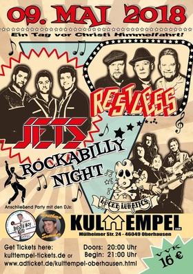 Bild: Rockabilly Night! - The Jets, Restless und Lucky Lunatics