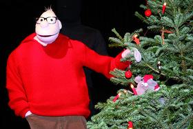 Bild: Werner Momsen ihm seine Weihnachtsshow