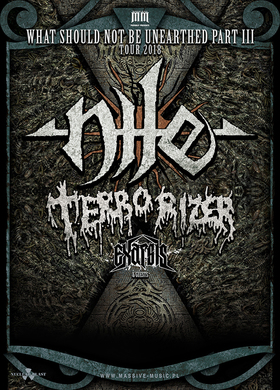Nile - What Should Not Be Unearthed Part III Tour 2018