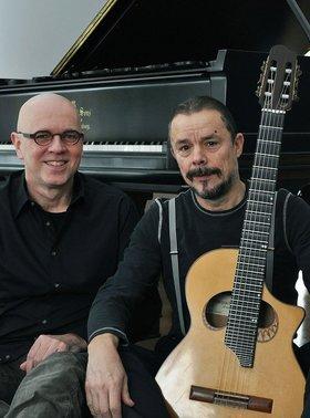 Bild: Jazzduo der Extraklasse - Uwe Kropinski und Dieter Köhnlein