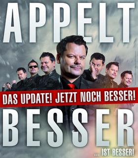 """Bild: Ingo Appelt - """"Besser… ist besser!"""" – Das Update! Jetzt noch besser!"""