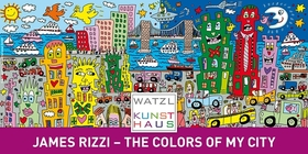 Bild: AUSSTELLUNG // JAMES RIZZI - THE COLORS OF MY CITY