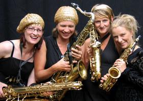 Bild: sistergold das Saxophone-Quartett -