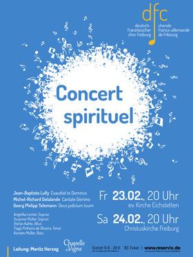 Bild: Concert spirituel - Deutsch-Französischer-Chor Freiburg