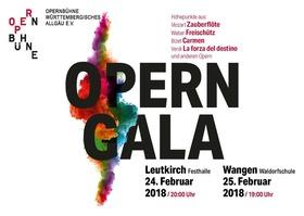 Bild: Operngala - von Mozart bis Verdi - Arien und Chöre mit Solisten, Chor und Orchester der Opernbühne Württembergisches Allgäu