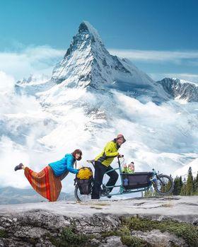 Bild: Auf Tour - Mit dem Lastenfahrrad durch Europa