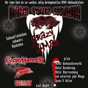 Bild: BANG YOUR HEAD!!! Weihnachtsfeier 2018 - Gloryhammer und Bullet u.v.a.