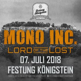 Bild: Festung Königstein Open Air 2018 - MONO INC. und LORD OF THE LOST
