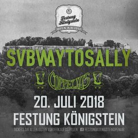 Bild: Festung Königstein Open Air 2018 - SUBWAY TO SALLY und Coppelius