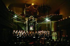 Bild: Weihnachtsmusik bei Kerzenschein - Schiersteiner Kantorei