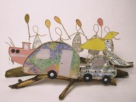 Bild: Zauberhafte Papierwerkstatt mit Cora Pfeifer - Zauberhafte Papierwerkstatt