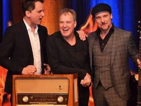 Bild: SWR1 Hits und Storys - Die Große Schneidewind-Show - SWR1 Moderator trifft auf die Musikkabarettisten Sascha Bendikts und Simon Höneß