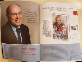 Bild: Gregor Gysi  - Ein Leben íst zu wenig - Autobiografie