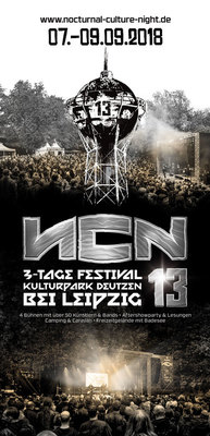 Nocturnal Culture Night 13 - Tagesticket Samstag