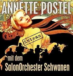 Bild: Annette Postel und das Salonorchester Schwanen -
