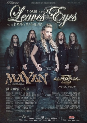 Leaves Eyes & MaYaN - Tour Of The Dragonhead