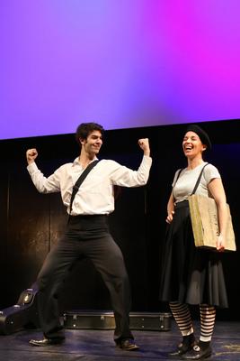 Bild: Der Drachentöter - Musiktheater für Kinder ab 3 Jahren von Margrit Dürr und Julian Metzger