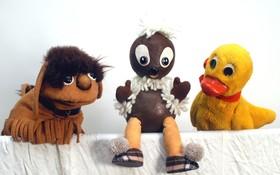 Bild: Pittiplatsch und seine Freunde - mit dem Original-TV-Figuren