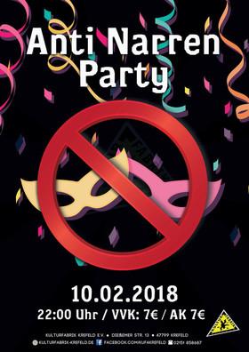 Anti Narren Party - Für alle Nichtkarnevalisten