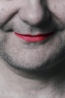 Bild: Das Lächeln am Fuße der Leiter
