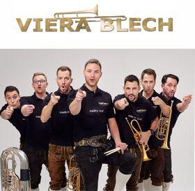 Bild: VIERA BLECH – Blasmusik Sensation aus Tirol - support act: Kappler Ratz Fatz-Buben