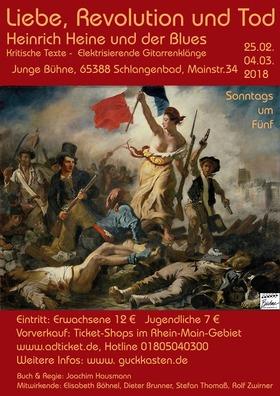 Bild: Liebe, Revolution und Tod - Heinrich Heine und der Blues - 3. Vorstellung