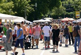 Bild: Flohmarkt Altstadt- und Seenachtfest 2018
