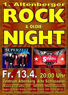Bild: 1. Altenberger Rock & Oldie-Night - mit den Bands