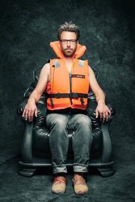 Bild: Phillippp Schaller - Kabarett im Kloster - Mit vollen Hosen sitzt man weicher